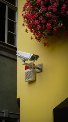 Security alarm.